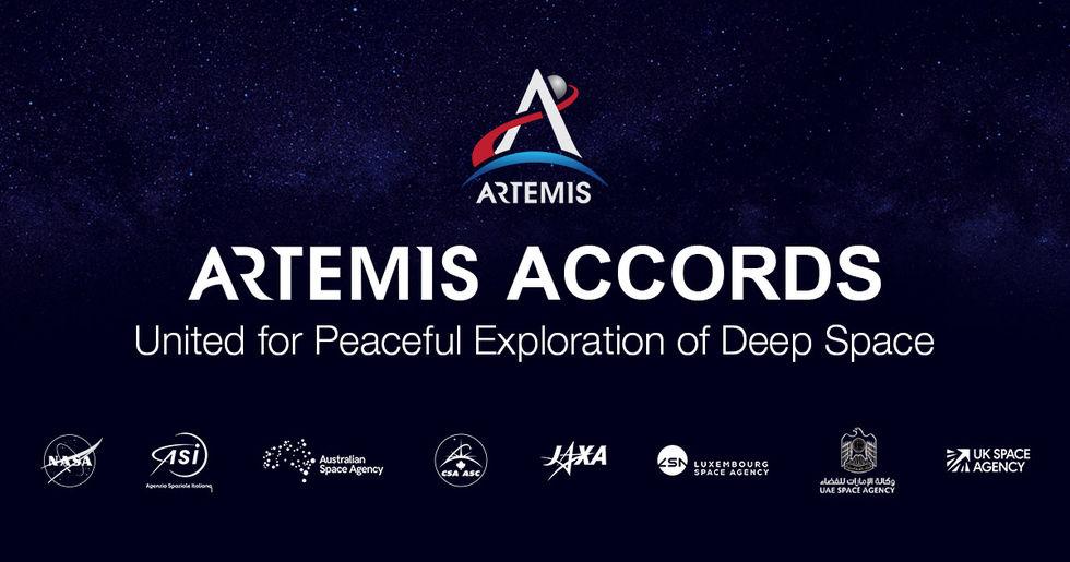 Sju länder ansluter sig till USA:s Artemis Accords
