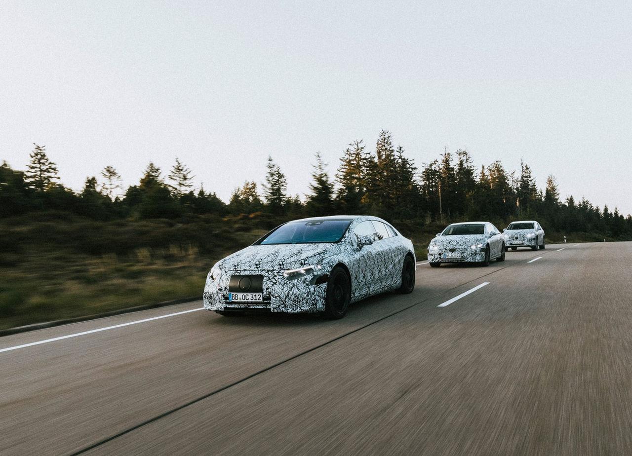 Du kommer kunna välja hur Mercedes EQ-modeller ska låta