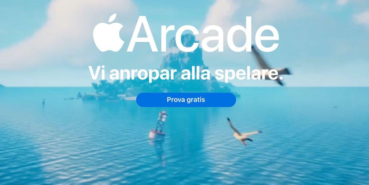 Apple bjussar på Apple Arcade när man köper nya grejer