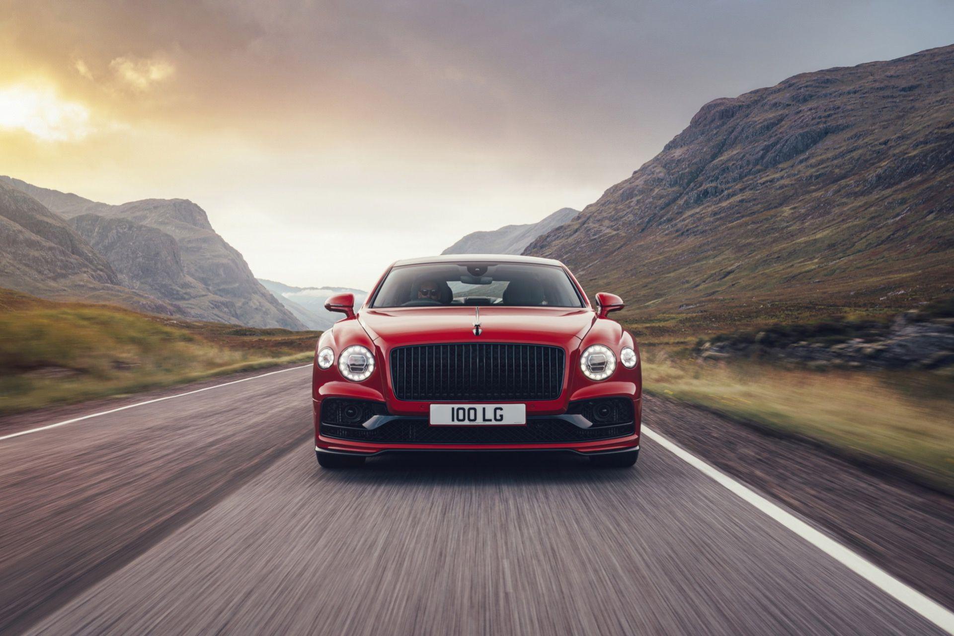 Det här är nya Bentley Flying Spur V8