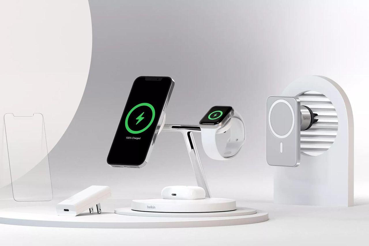 Belkin visar upp MagSafe-grejer till iPhone 12