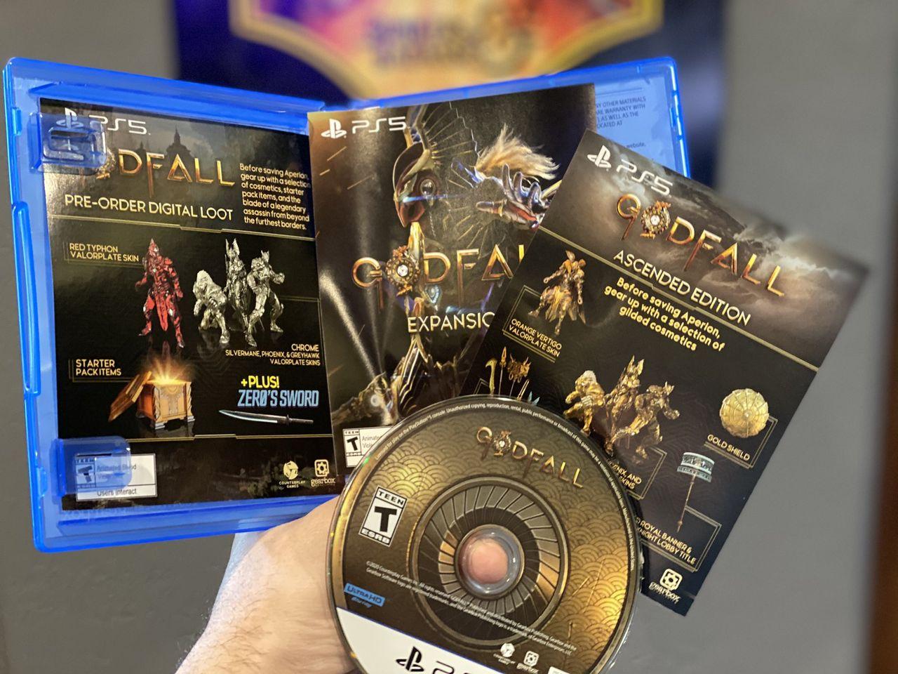 Första fysiska PS5-spelet printat