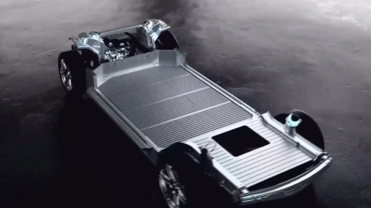 Det här är Foxconns elbilsplattform