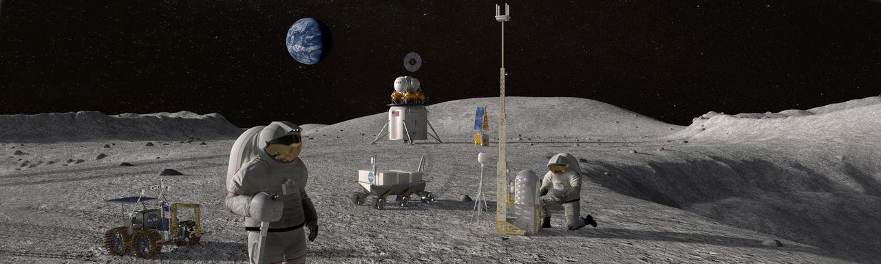 Nokia ska utveckla mobilnätverk som ska byggas på månen
