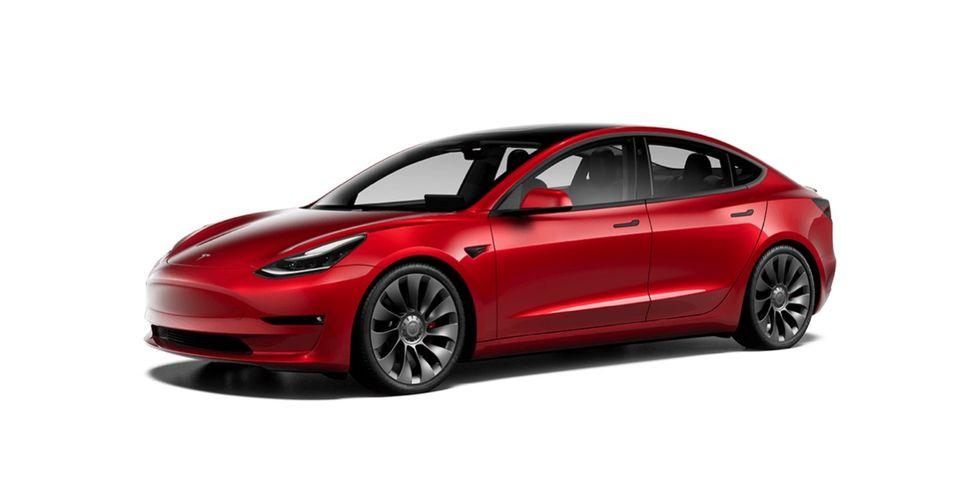 Tesla uppdaterar Model 3