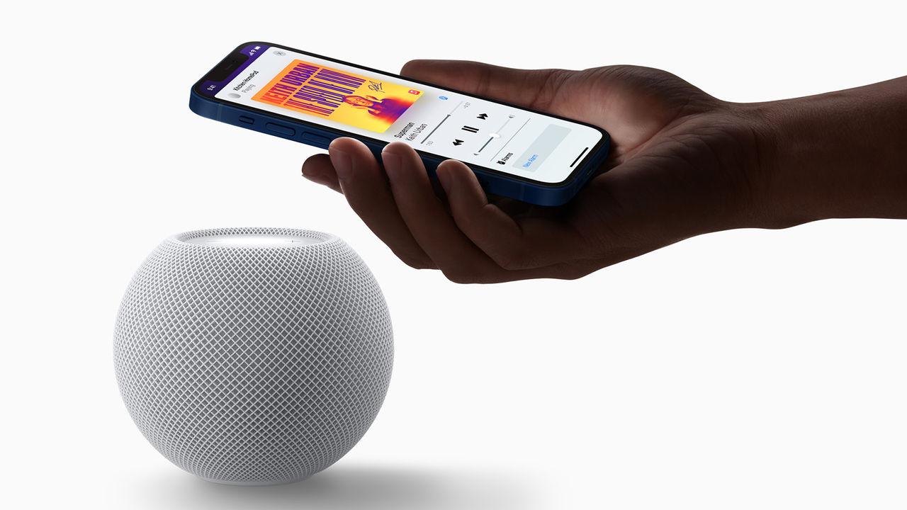 HomePod mini är Apples första produkt med stöd för Thread