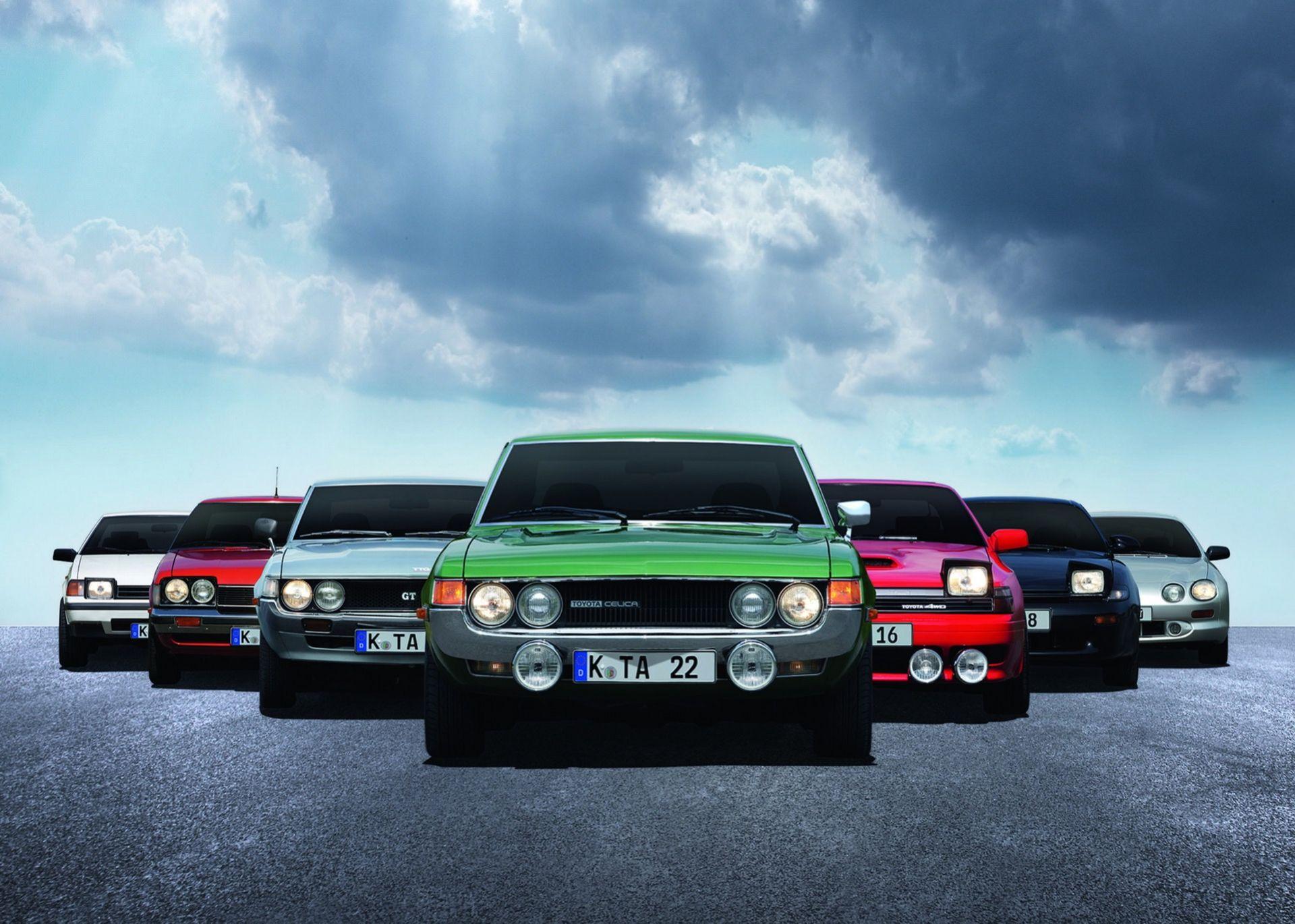 Toyota Celica fyller 50 år!