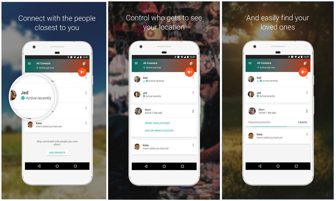 Google säger hejdå till Trusted Contacts