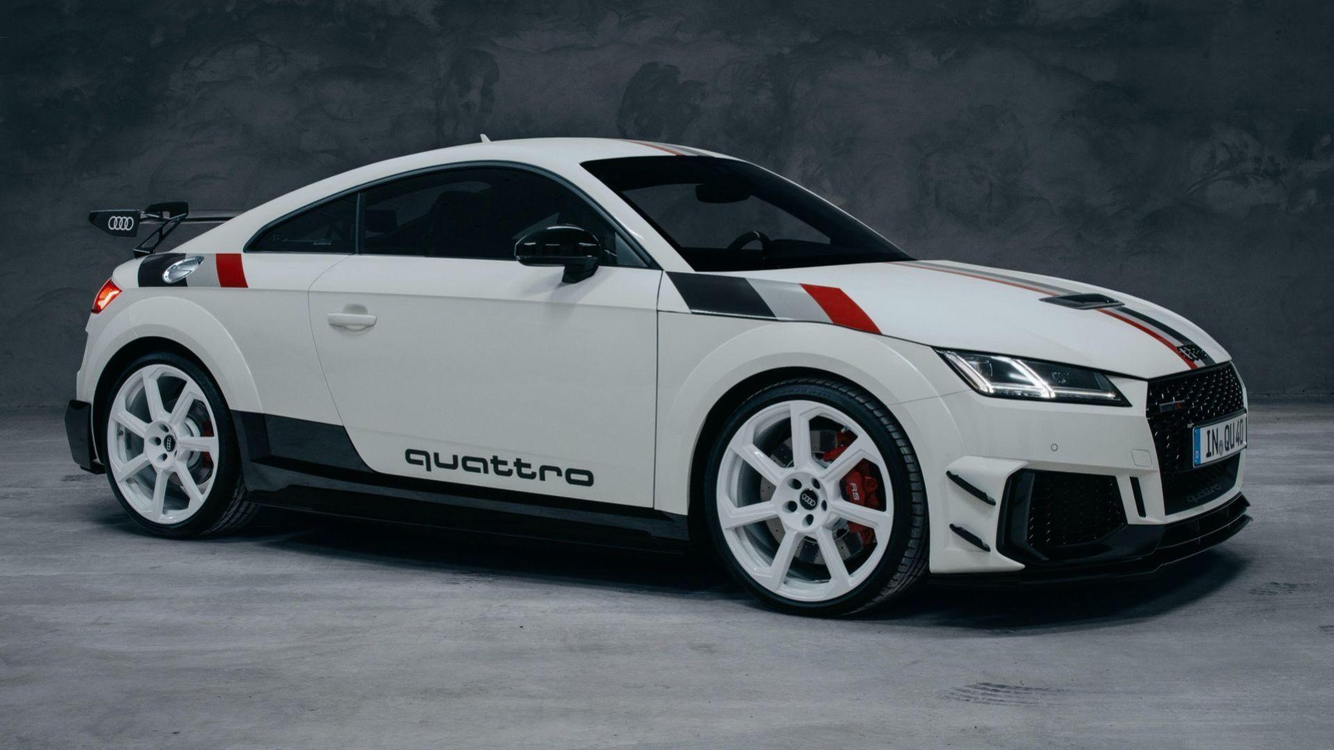 Quattro fyller 40 år - Audi firar med specialversion av TT RS