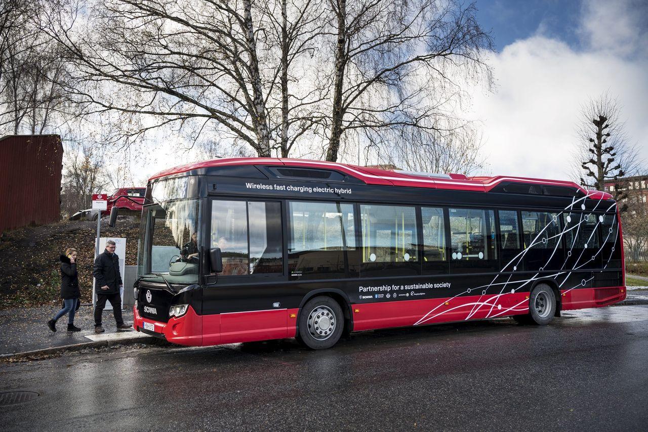 Bussar i Stockholm testar att mäta luftkvalitet