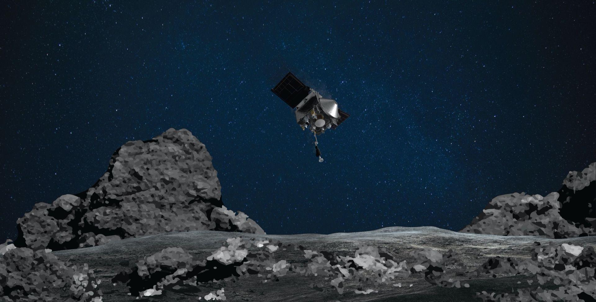 I natt ska NASA hälsa på hos Bennu