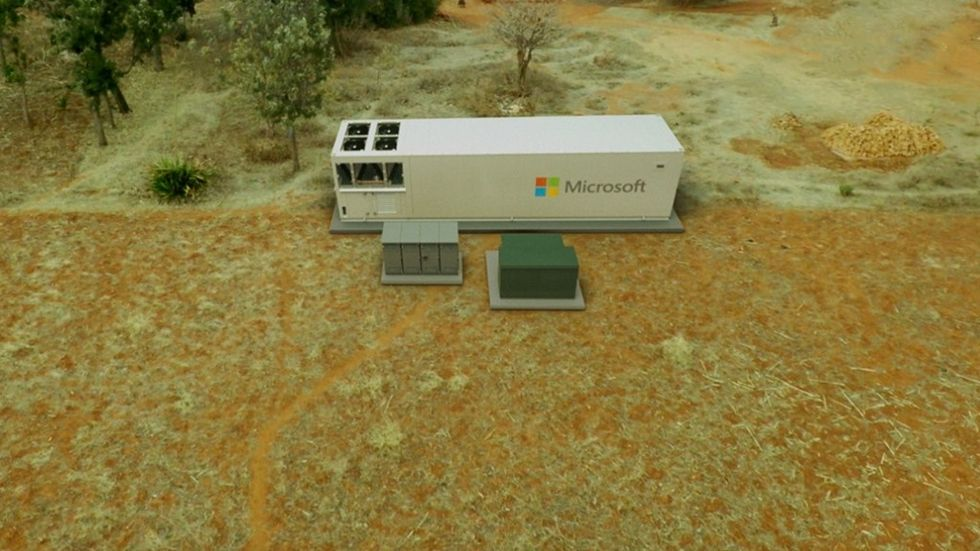 Microsoft presenterar Azure Modular Datacenter