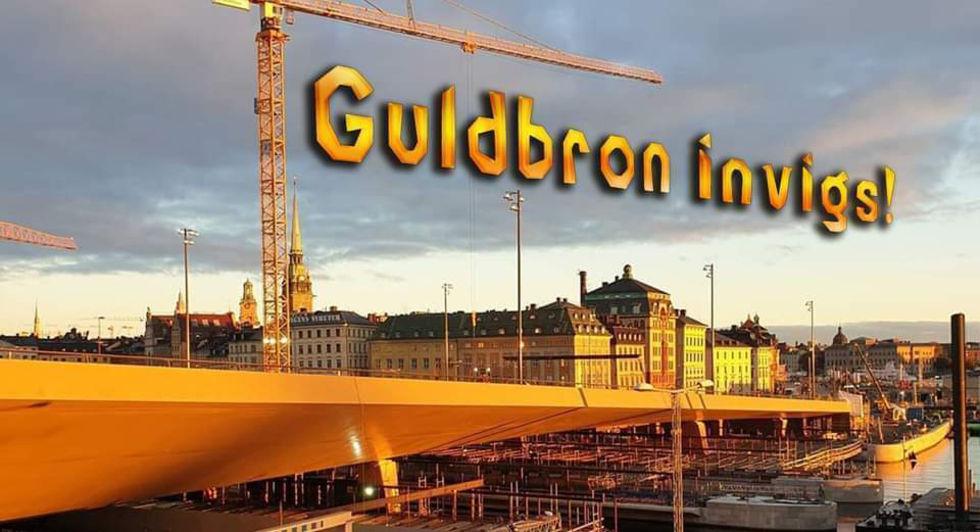 På söndag invigs Guldbron i Stockholm