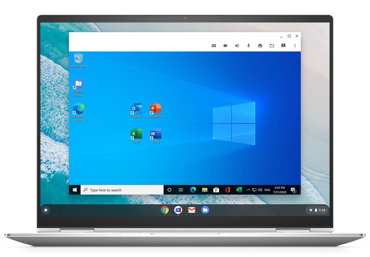 Parallels fixar Windows 10 till Chromebooks