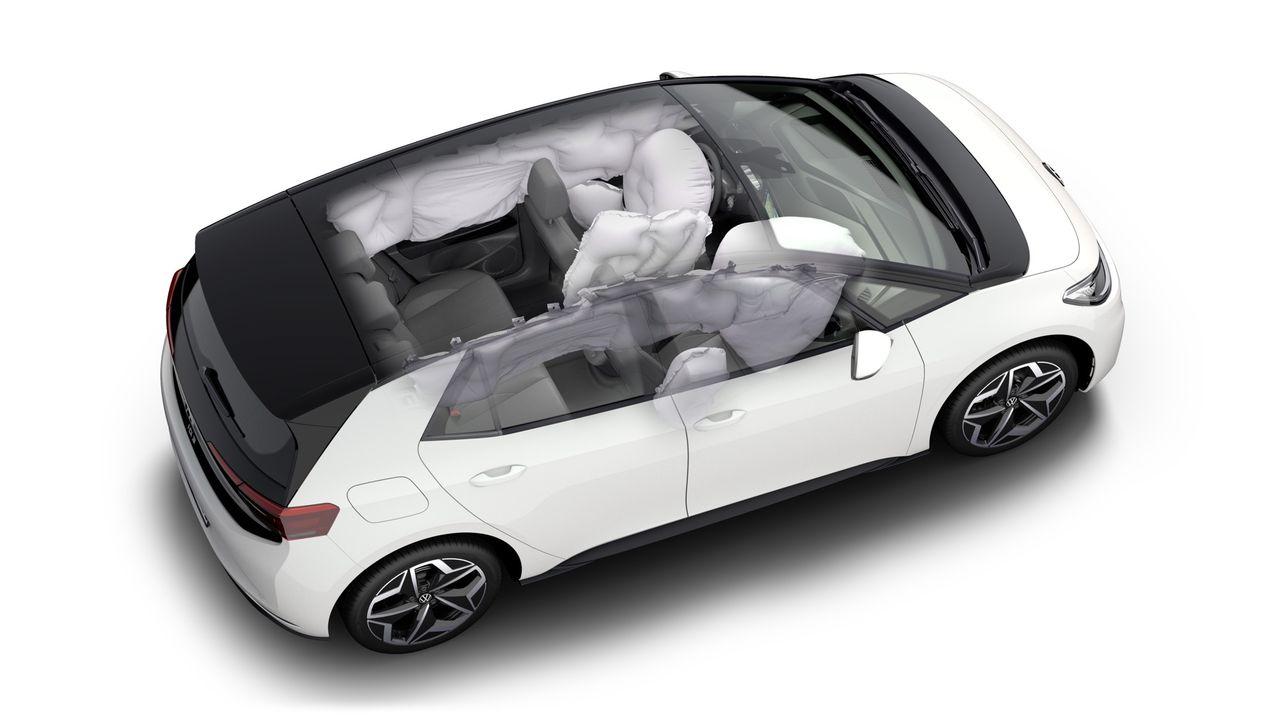 Volkswagen ID.3 får fem stjärnor i Euro NCAP