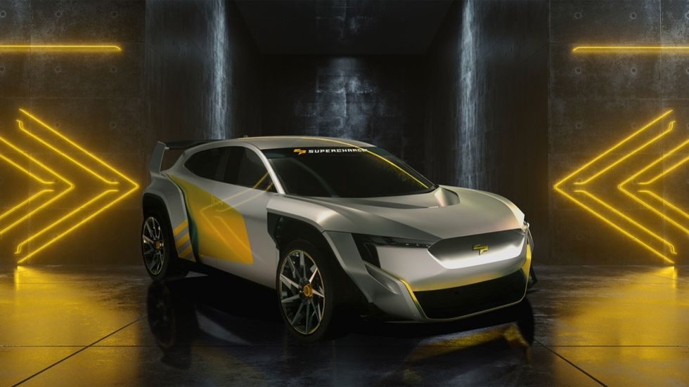 SuperCharge - racing med eldrivna crossovers