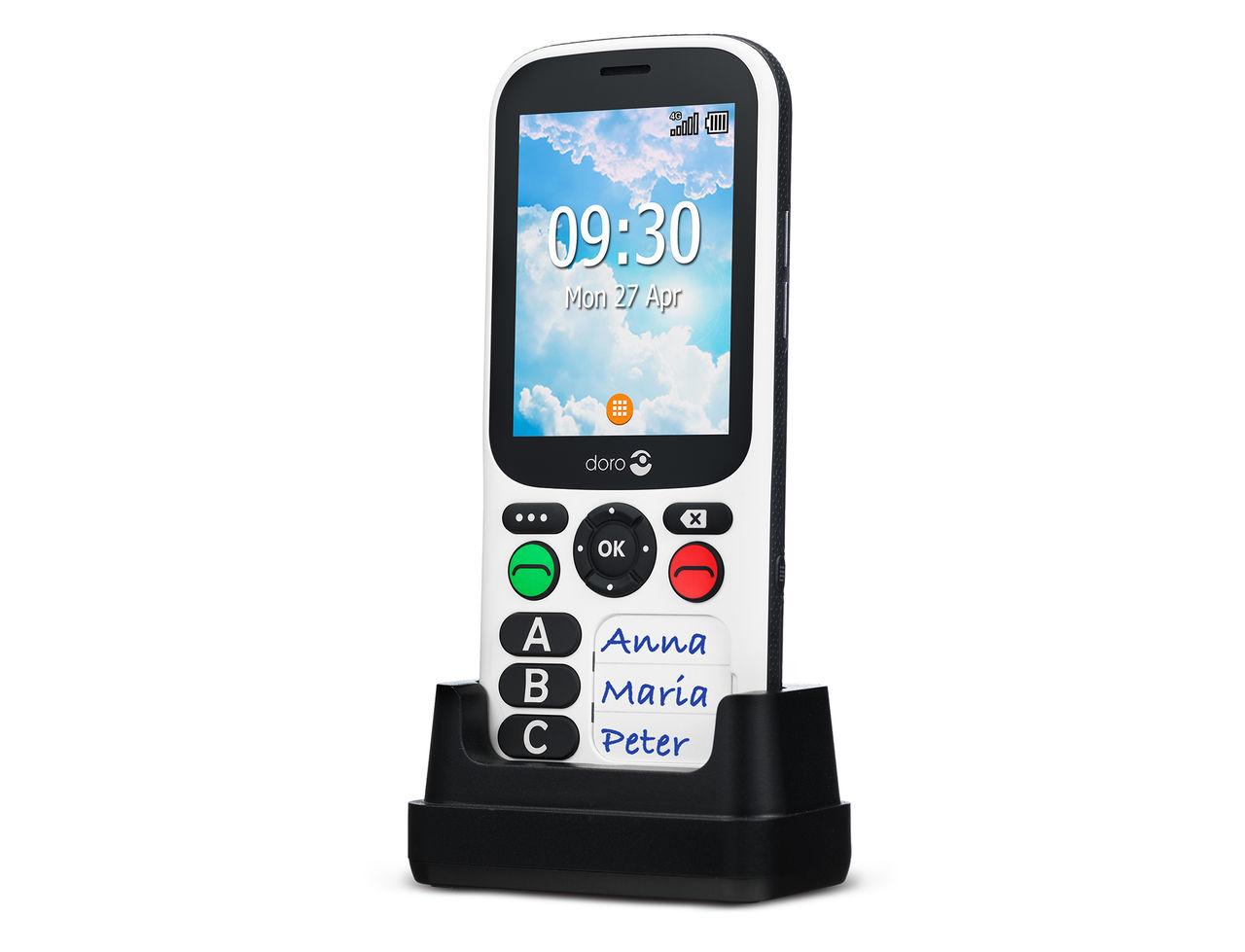 Doro 780X är en superenkel mobiltelefon