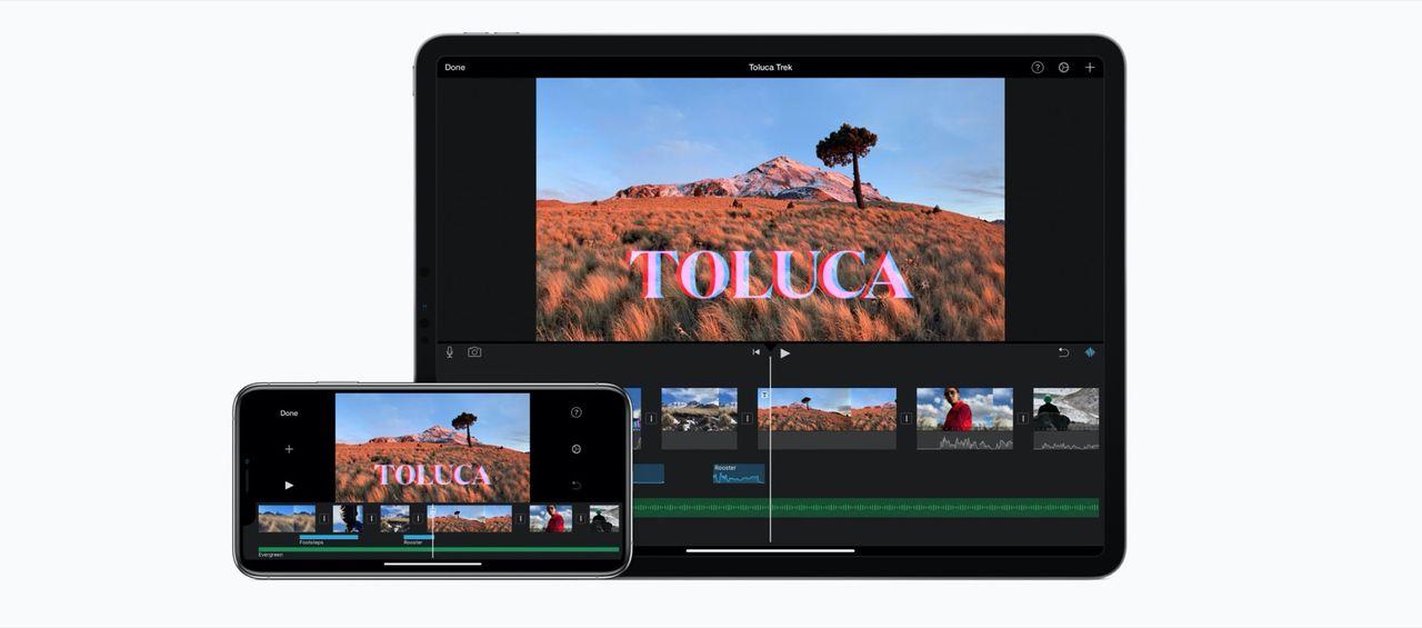 Apple uppdaterar iMovie till iPhone och iPad