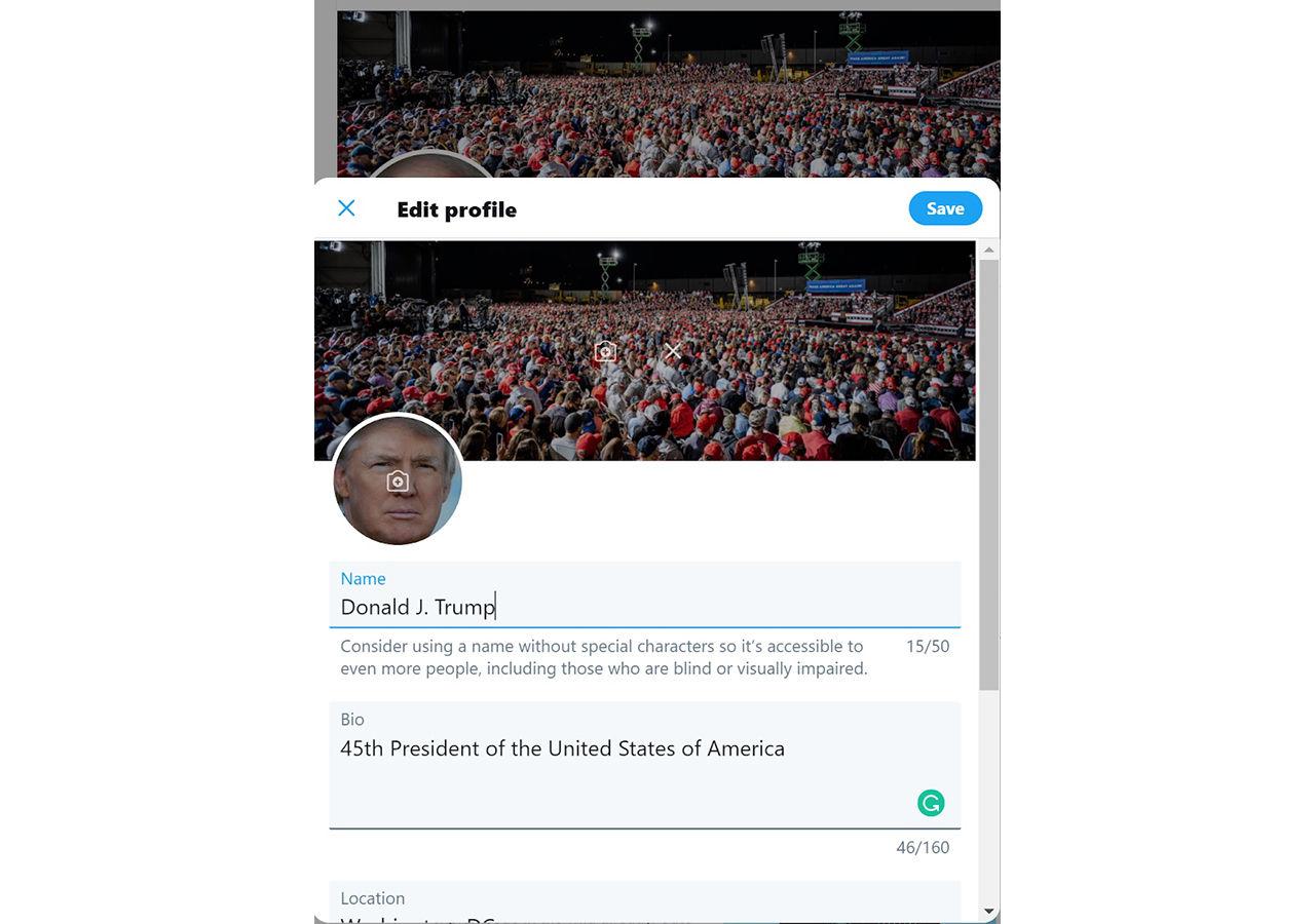 Säkerhetsexpert säger sig ha tagit sig in på Trumps twitter