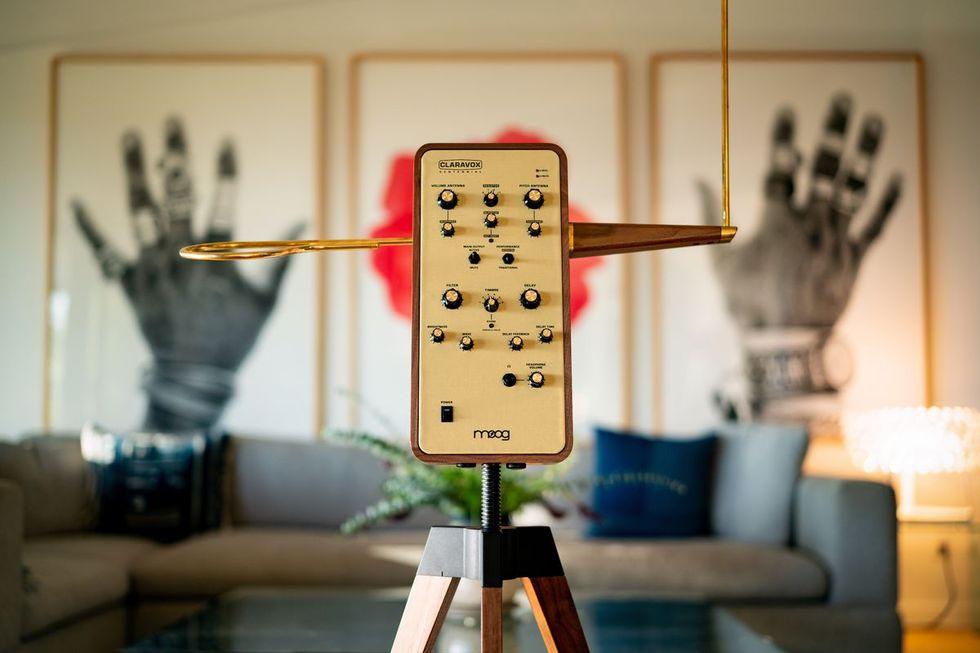 Moog firar att thereminen fyller 100 år