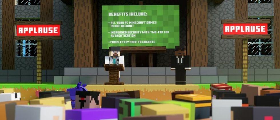 Minecraft kommer att kräva Microsoft-konto nästa år