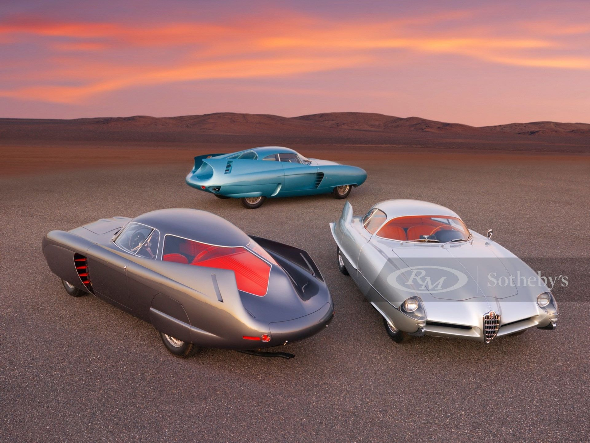 Tre fantastiska Alfa Romeo-koncept till salu