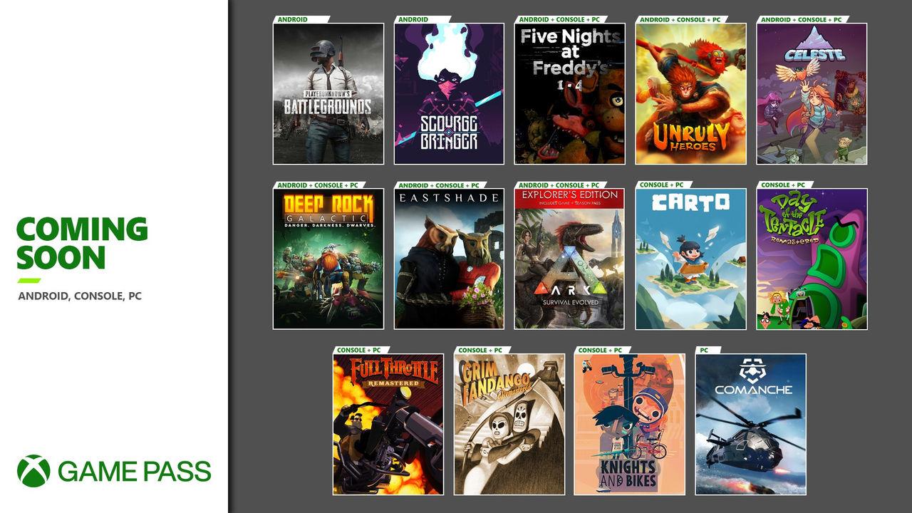 Microsoft levererar Game Pass-nyheter inför november