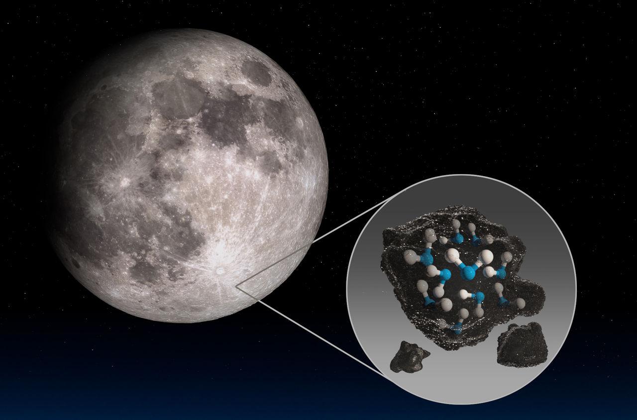 NASA har upptäckt mer vatten på månen