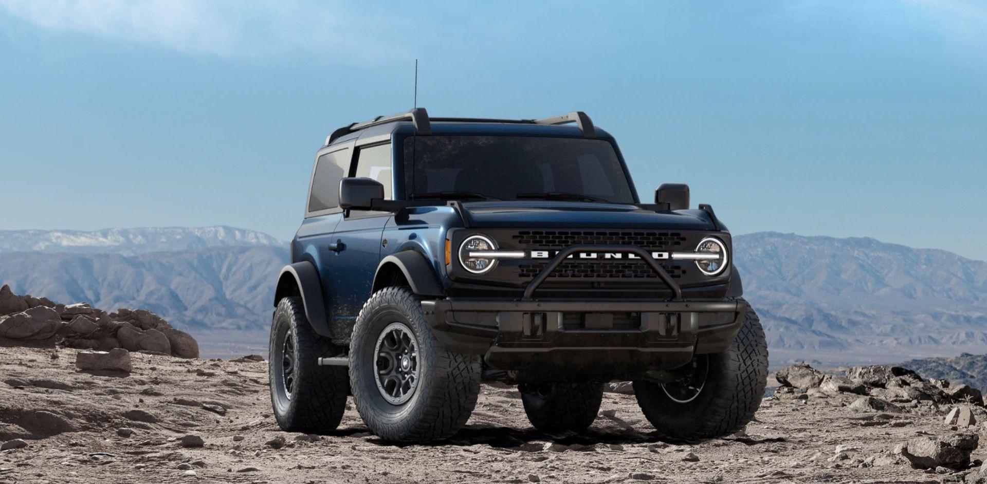 Lek loss med konfiguratorn till nya Ford Bronco