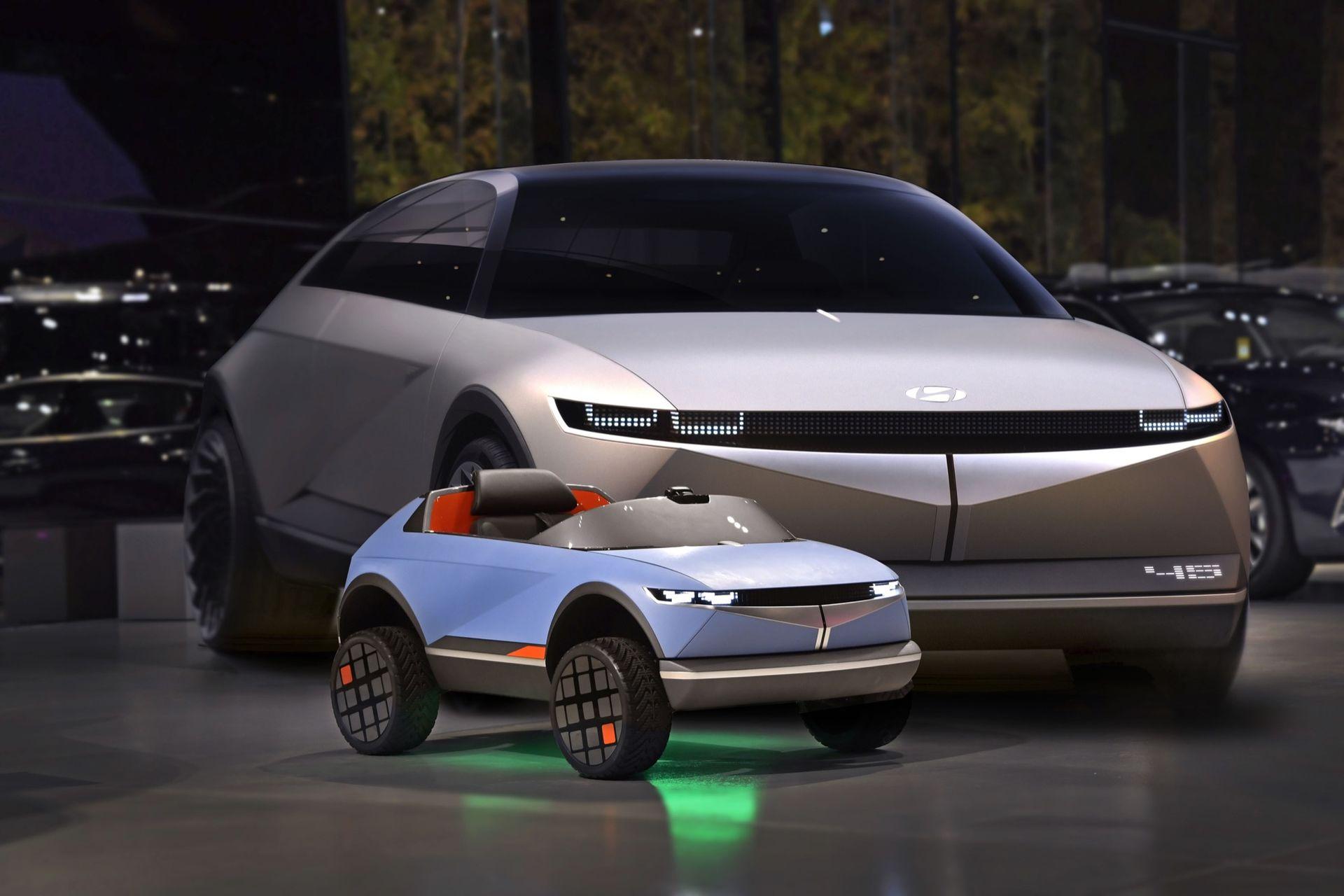 Det här är Hyundais minsta elbil