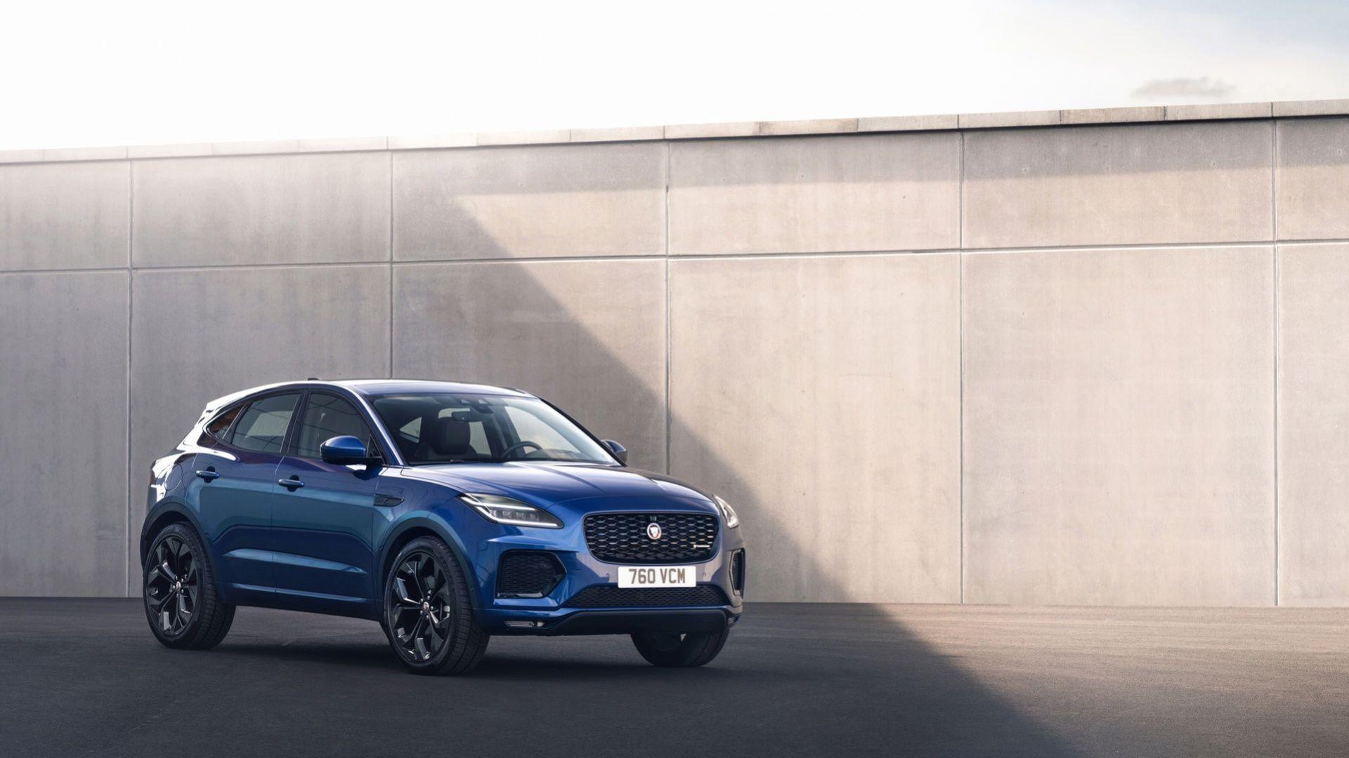 Jaguar lyfter E-Pace