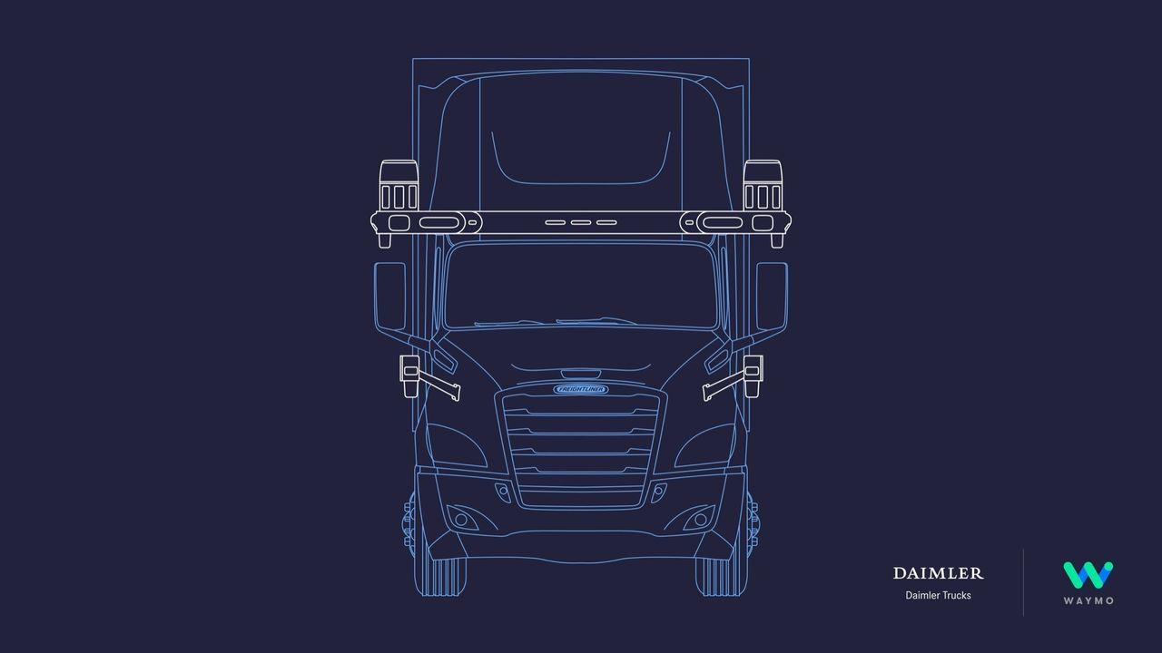 Daimler Trucks och Waymo ska bygga självkörande lastbilar