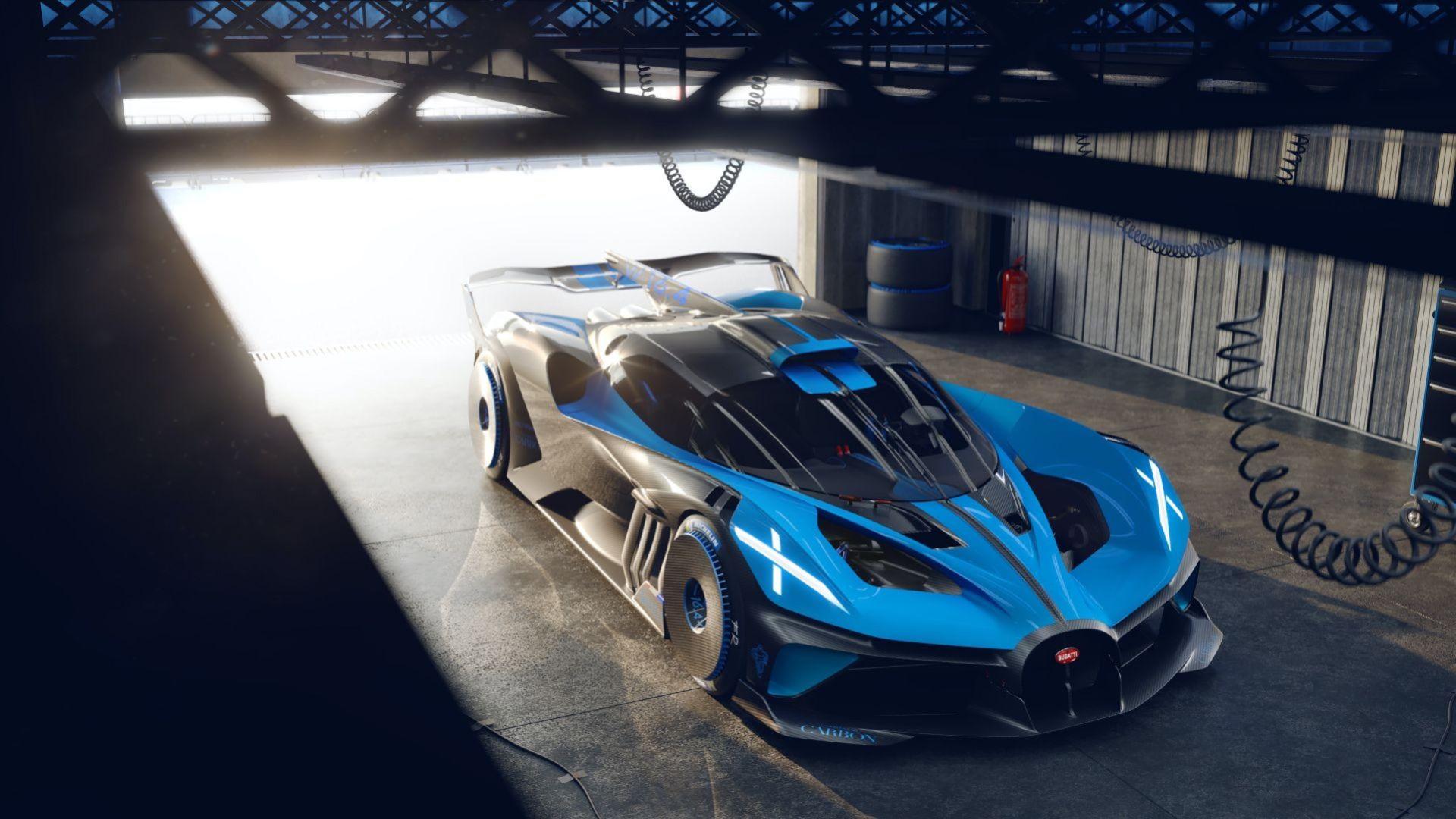 Bugatti presenterar banracern Bolide