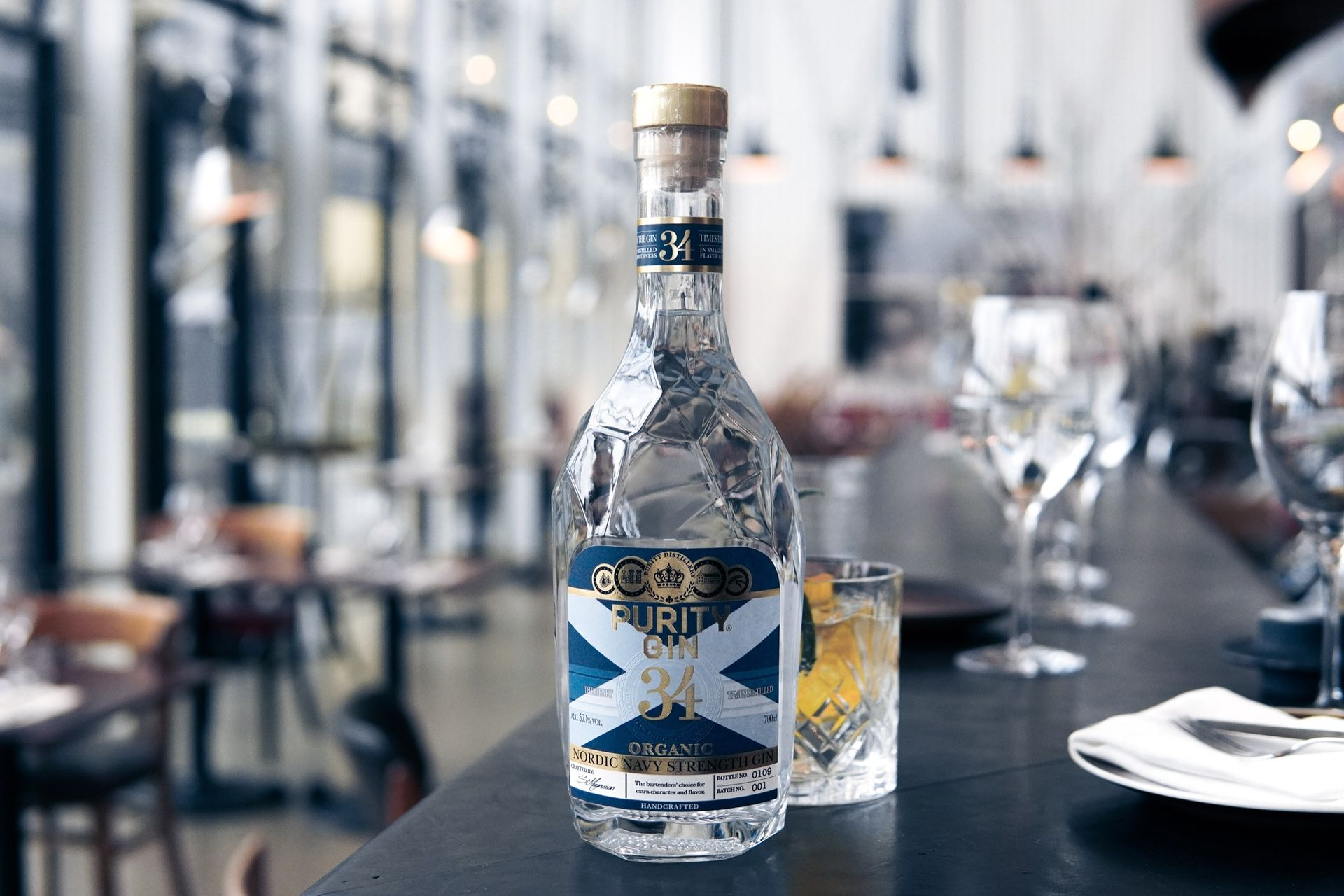 Svenska Purity Navy Strength Gin får fint pris