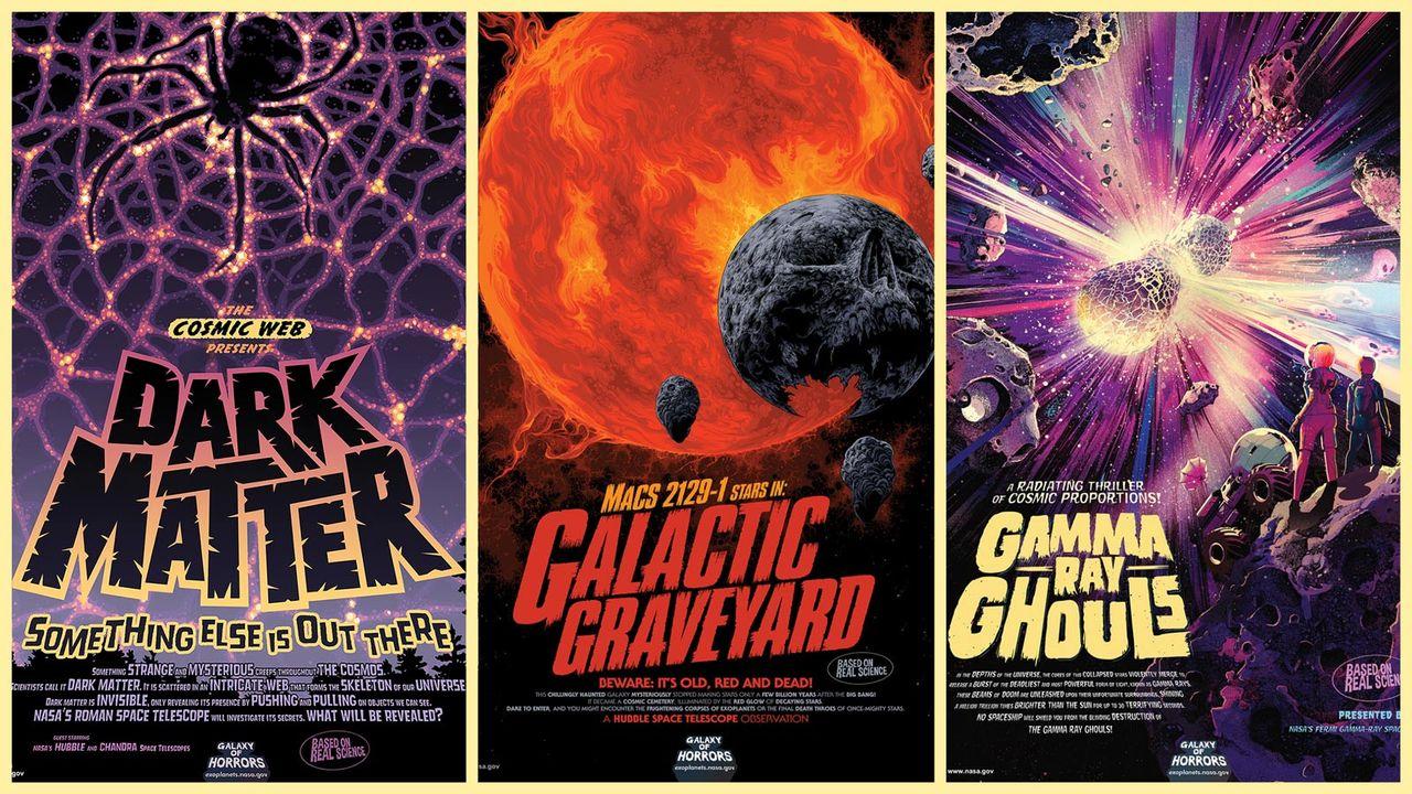 NASA släpper nya affischer och soundtrack inför Halloween