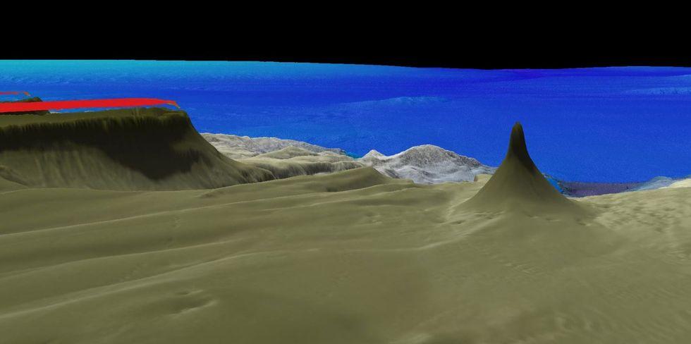 Ett över 500 meter högt korallrev upptäckt utanför Australien