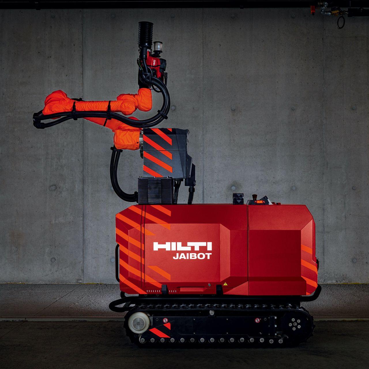 Hilti visar upp roboten Jaibot