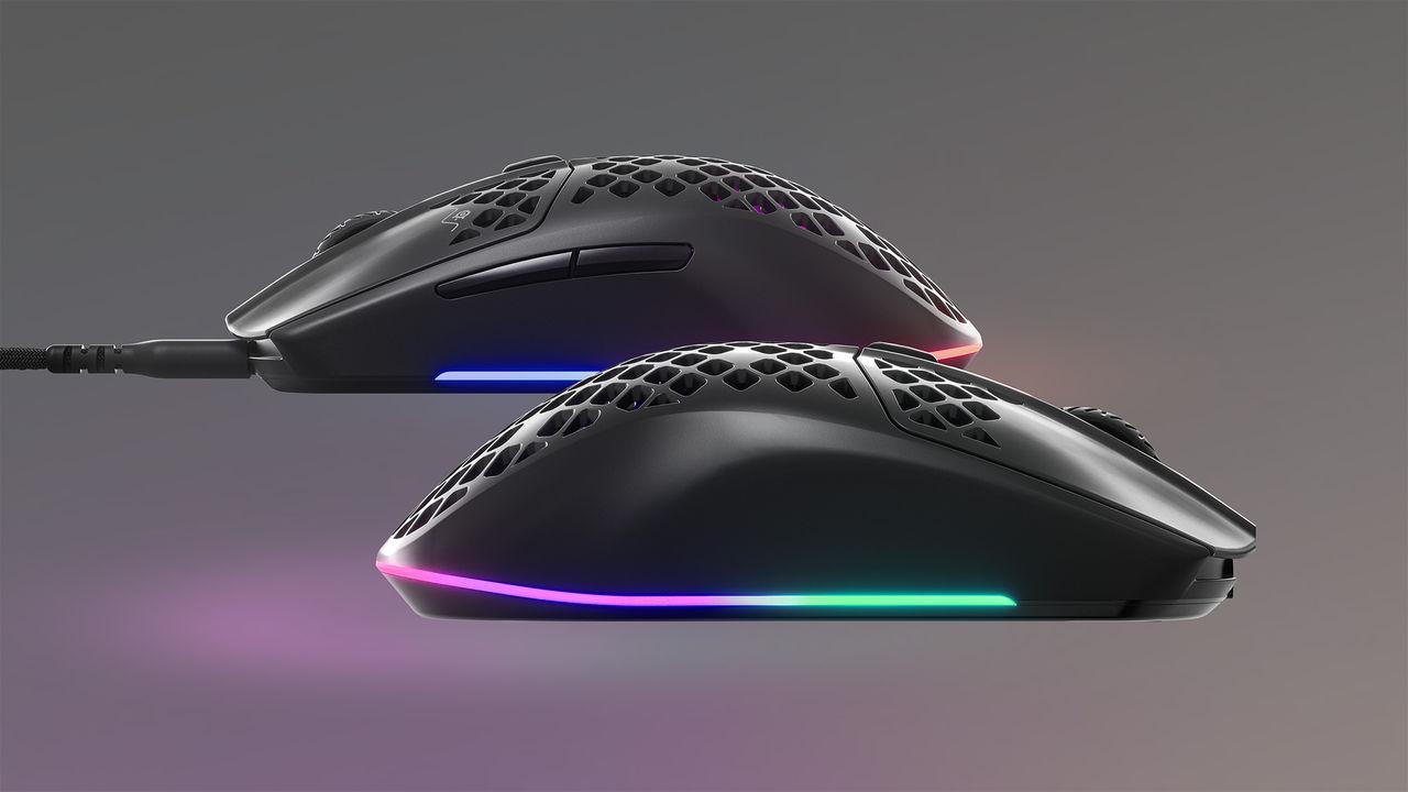 Steelseries presenterar lätta och vattentåliga Aerox 3
