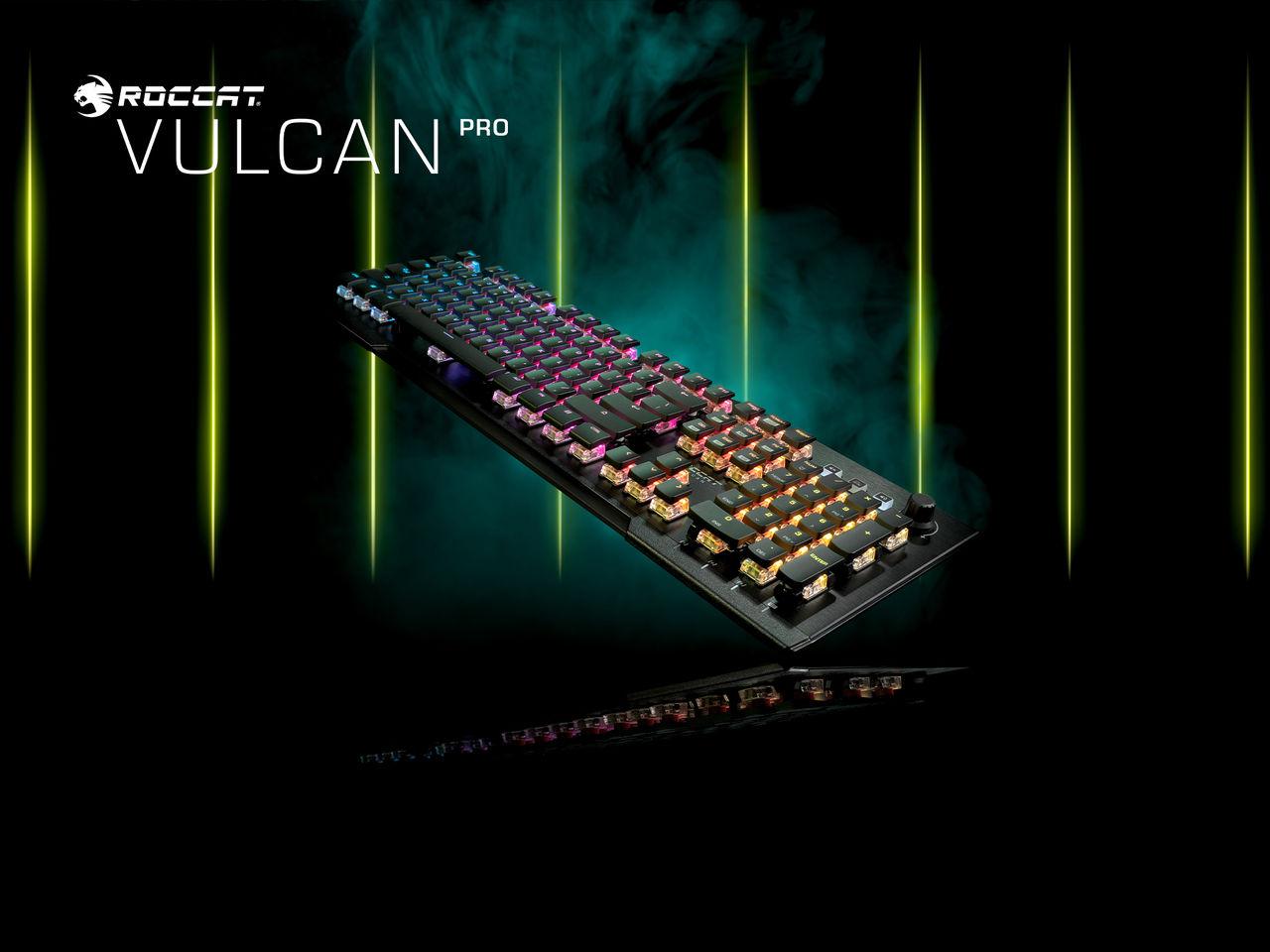 Roccat släpper Vulcan Pro och Vulcan Pro TKL