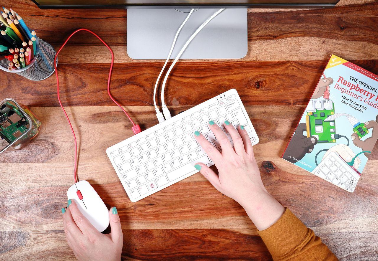 Raspberry Pi 400 är ett tangentbord med inbyggd dator