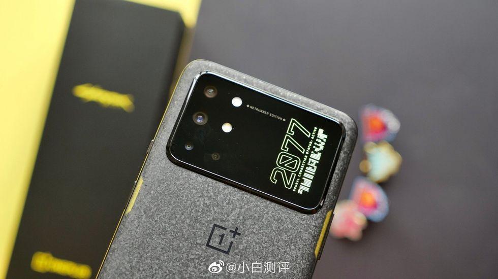 OnePlus 8T släpps i Cyberpunk 2077-skrud