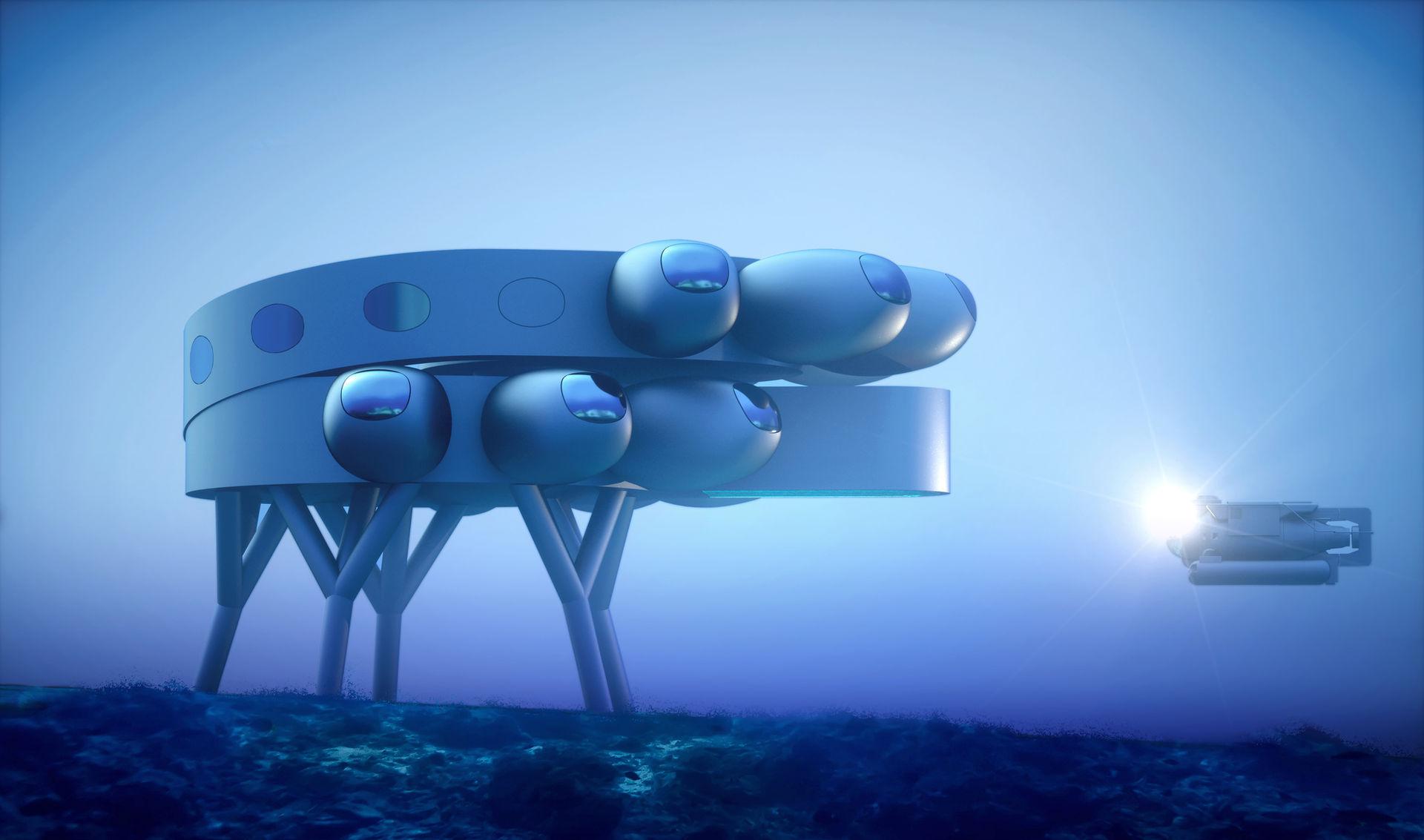 Proteus ska bli en forskningsstation under vattnet