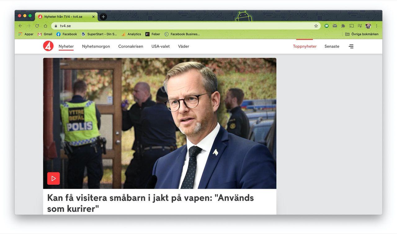 TV4.se blir en nyhetssajt