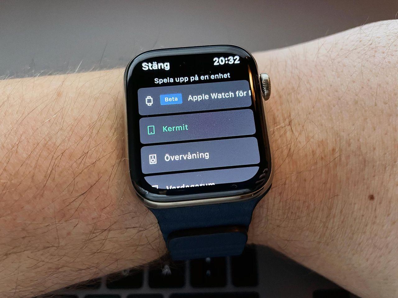 Nu kan du strömma Spotify från din Apple Watch