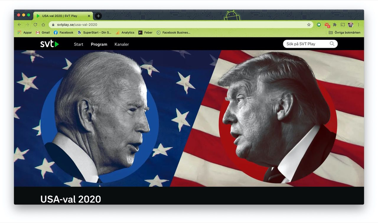 Så här följer du det amerikanska presidentvalet