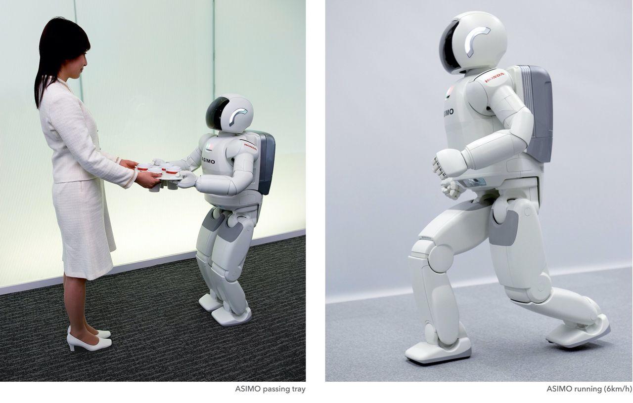 Ny version av roboten Asimo