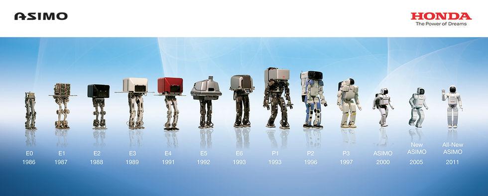 Hondas robot Asimo fyller 20 år