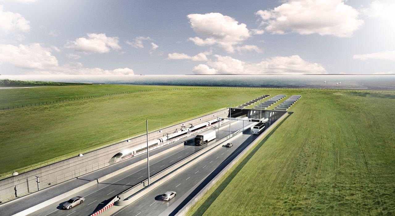 Tyskland har gett klartecken för tunnel till Danmark