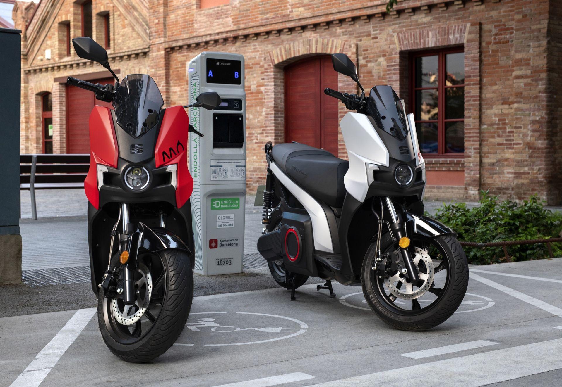 Seat lanserar eldrivna eScooter 125