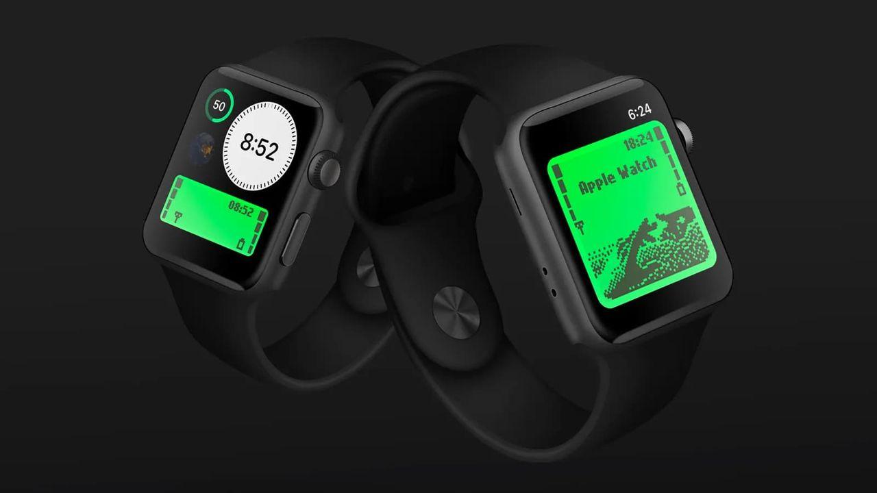 Gör din Apple Watch lite mer lik en gammal Nokia-telefon